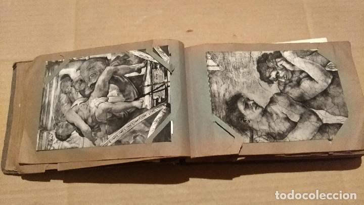 Postales: Álbum antiguo con 98 postales, de Roma y otras ciudades europeas. Inicios S XX - Foto 15 - 188669680