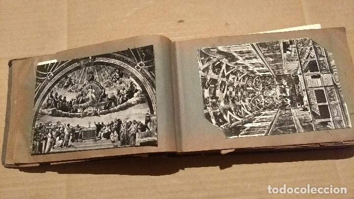 Postales: Álbum antiguo con 98 postales, de Roma y otras ciudades europeas. Inicios S XX - Foto 16 - 188669680
