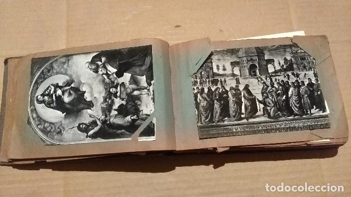 Postales: Álbum antiguo con 98 postales, de Roma y otras ciudades europeas. Inicios S XX - Foto 17 - 188669680