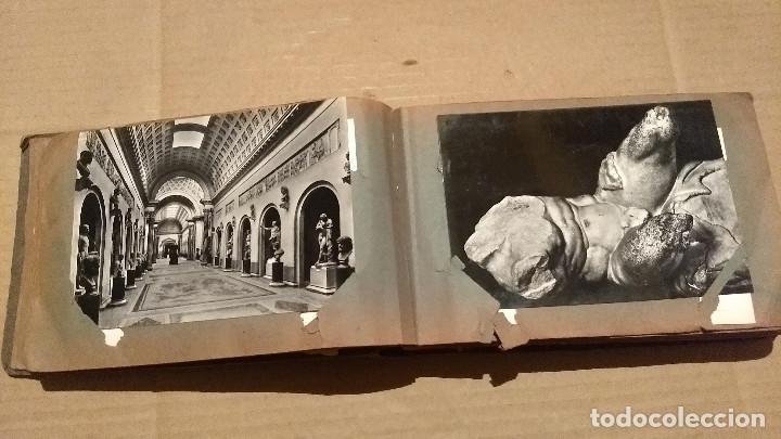 Postales: Álbum antiguo con 98 postales, de Roma y otras ciudades europeas. Inicios S XX - Foto 18 - 188669680