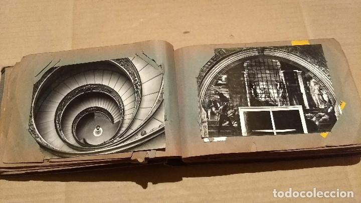 Postales: Álbum antiguo con 98 postales, de Roma y otras ciudades europeas. Inicios S XX - Foto 19 - 188669680