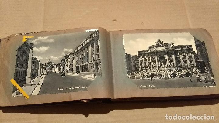 Postales: Álbum antiguo con 98 postales, de Roma y otras ciudades europeas. Inicios S XX - Foto 20 - 188669680