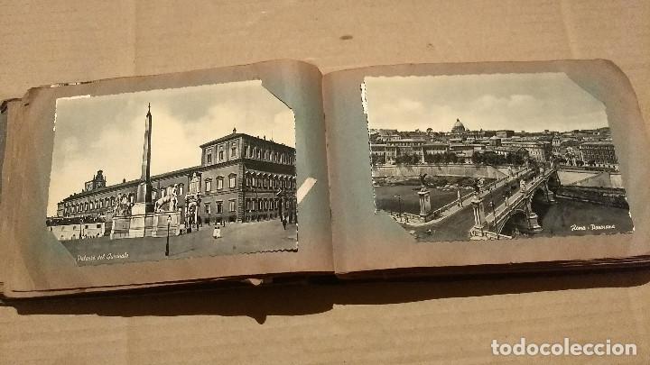Postales: Álbum antiguo con 98 postales, de Roma y otras ciudades europeas. Inicios S XX - Foto 21 - 188669680