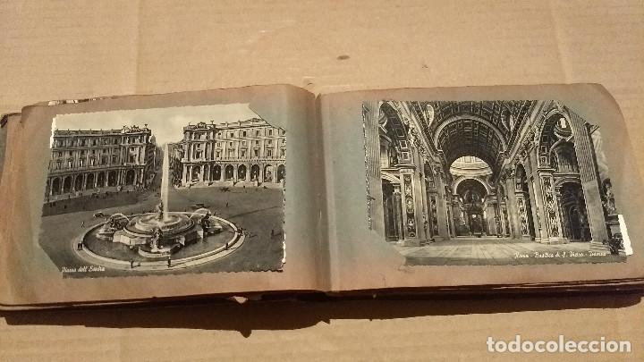 Postales: Álbum antiguo con 98 postales, de Roma y otras ciudades europeas. Inicios S XX - Foto 22 - 188669680