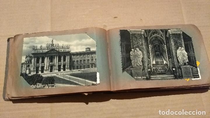 Postales: Álbum antiguo con 98 postales, de Roma y otras ciudades europeas. Inicios S XX - Foto 23 - 188669680