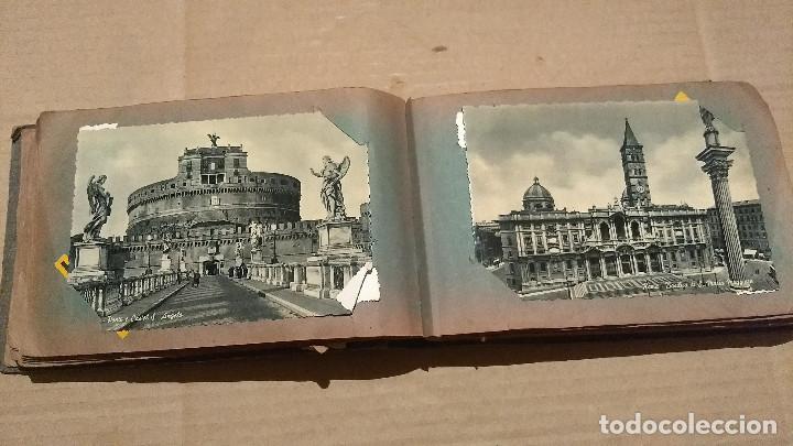 Postales: Álbum antiguo con 98 postales, de Roma y otras ciudades europeas. Inicios S XX - Foto 24 - 188669680