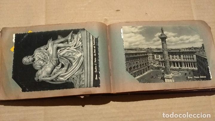 Postales: Álbum antiguo con 98 postales, de Roma y otras ciudades europeas. Inicios S XX - Foto 25 - 188669680