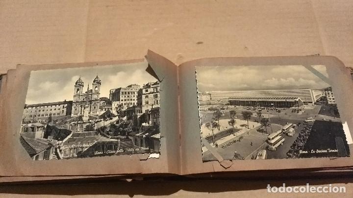 Postales: Álbum antiguo con 98 postales, de Roma y otras ciudades europeas. Inicios S XX - Foto 27 - 188669680
