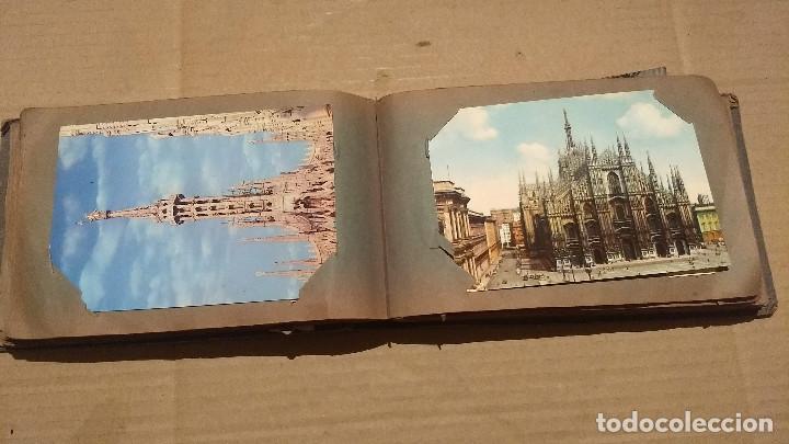 Postales: Álbum antiguo con 98 postales, de Roma y otras ciudades europeas. Inicios S XX - Foto 28 - 188669680