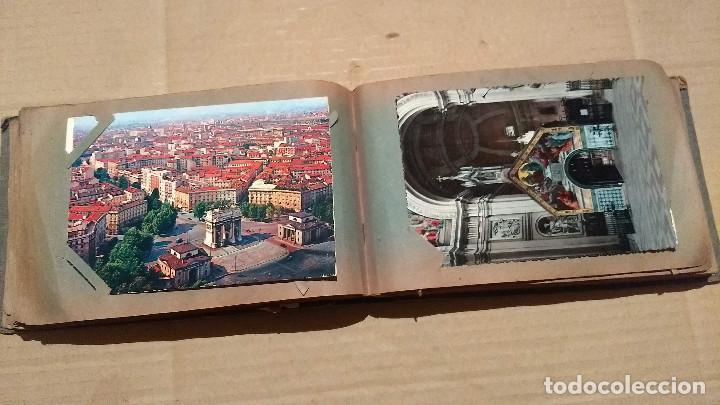Postales: Álbum antiguo con 98 postales, de Roma y otras ciudades europeas. Inicios S XX - Foto 29 - 188669680