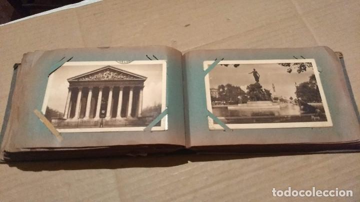 Postales: Álbum antiguo con 98 postales, de Roma y otras ciudades europeas. Inicios S XX - Foto 40 - 188669680