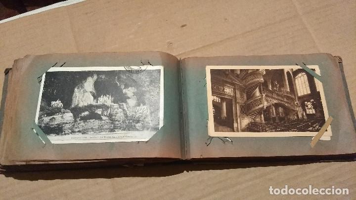 Postales: Álbum antiguo con 98 postales, de Roma y otras ciudades europeas. Inicios S XX - Foto 41 - 188669680