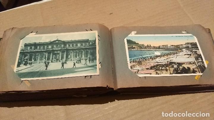 Postales: Álbum antiguo con 98 postales, de Roma y otras ciudades europeas. Inicios S XX - Foto 42 - 188669680