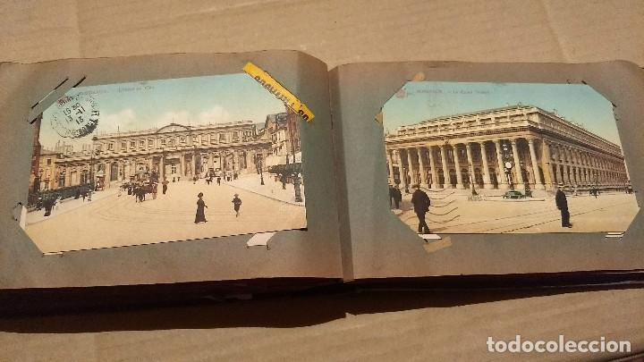 Postales: Álbum antiguo con 98 postales, de Roma y otras ciudades europeas. Inicios S XX - Foto 45 - 188669680