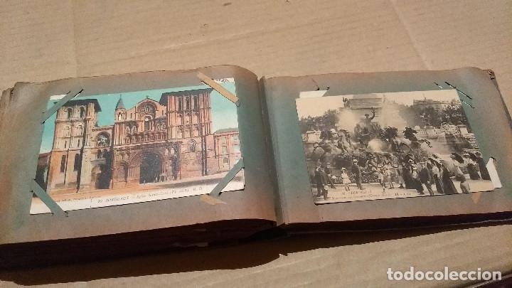Postales: Álbum antiguo con 98 postales, de Roma y otras ciudades europeas. Inicios S XX - Foto 46 - 188669680