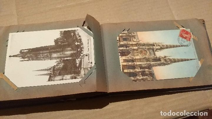 Postales: Álbum antiguo con 98 postales, de Roma y otras ciudades europeas. Inicios S XX - Foto 47 - 188669680