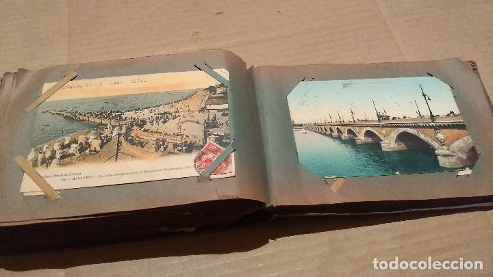 Postales: Álbum antiguo con 98 postales, de Roma y otras ciudades europeas. Inicios S XX - Foto 48 - 188669680