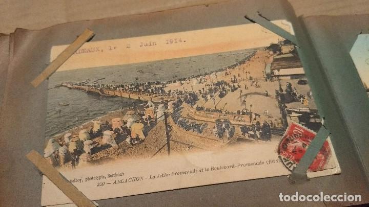 Postales: Álbum antiguo con 98 postales, de Roma y otras ciudades europeas. Inicios S XX - Foto 49 - 188669680