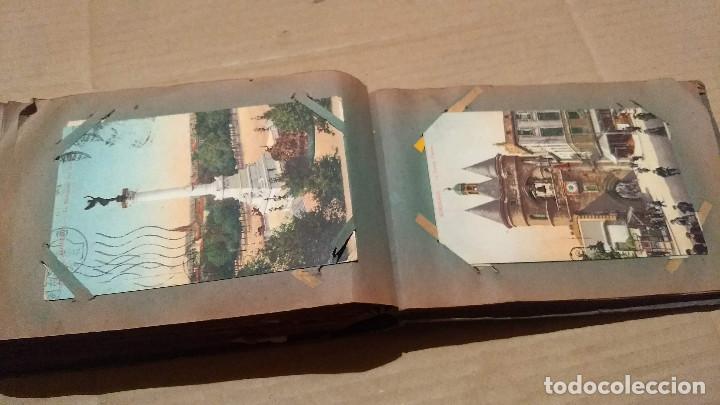 Postales: Álbum antiguo con 98 postales, de Roma y otras ciudades europeas. Inicios S XX - Foto 50 - 188669680