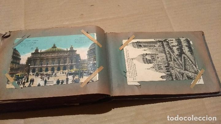Postales: Álbum antiguo con 98 postales, de Roma y otras ciudades europeas. Inicios S XX - Foto 51 - 188669680