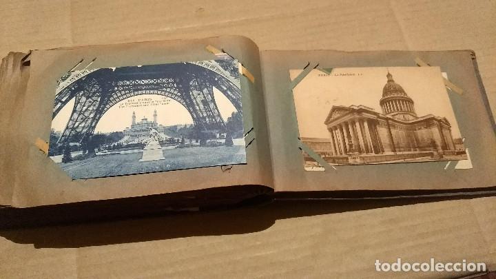 Postales: Álbum antiguo con 98 postales, de Roma y otras ciudades europeas. Inicios S XX - Foto 52 - 188669680