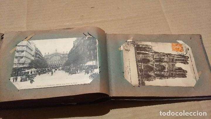 Postales: Álbum antiguo con 98 postales, de Roma y otras ciudades europeas. Inicios S XX - Foto 53 - 188669680