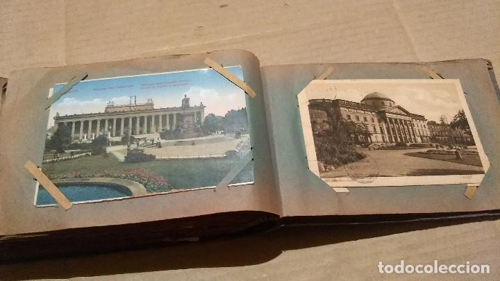 Postales: Álbum antiguo con 98 postales, de Roma y otras ciudades europeas. Inicios S XX - Foto 54 - 188669680