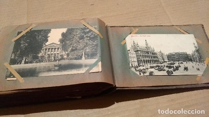 Postales: Álbum antiguo con 98 postales, de Roma y otras ciudades europeas. Inicios S XX - Foto 55 - 188669680
