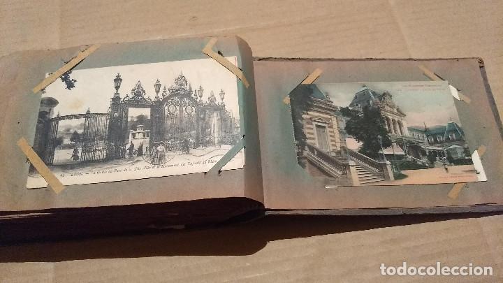 Postales: Álbum antiguo con 98 postales, de Roma y otras ciudades europeas. Inicios S XX - Foto 56 - 188669680