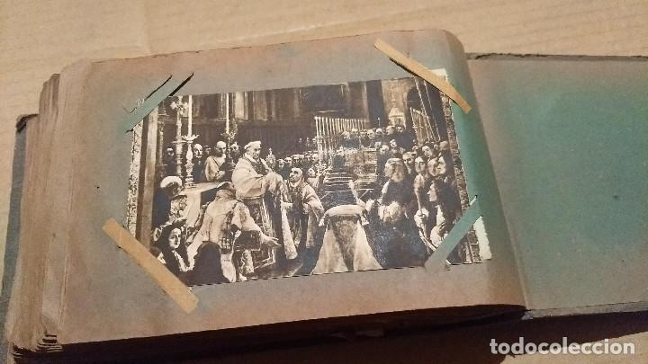 Postales: Álbum antiguo con 98 postales, de Roma y otras ciudades europeas. Inicios S XX - Foto 57 - 188669680
