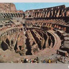 Postales: ROMA/ INTERNO COLOSSEO/ SIN CIRCULAR/ 14,5×10 CTM. Lote 188800488