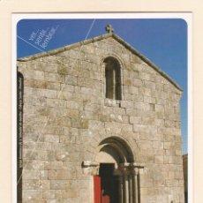 Postales: POSTAL IGREJA DE S. SALVADOR DE GANDRA. CABEÇA SANTA. PENAFIEL (PORTUGAL). Lote 254629965