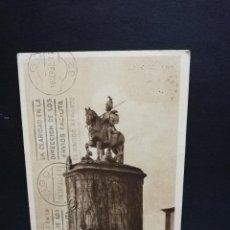 Cartoline: TARJETA POSTAL DE PORTUGAL. BRAGA. BOM JESUS DO MONTE. ESTATUA DE LONGUINHOA.. Lote 189259411