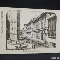 Postales: TARJETA POSTAL DE MILANO. PORTICI DI PIAZZA DEL DUOMO.. Lote 190124177