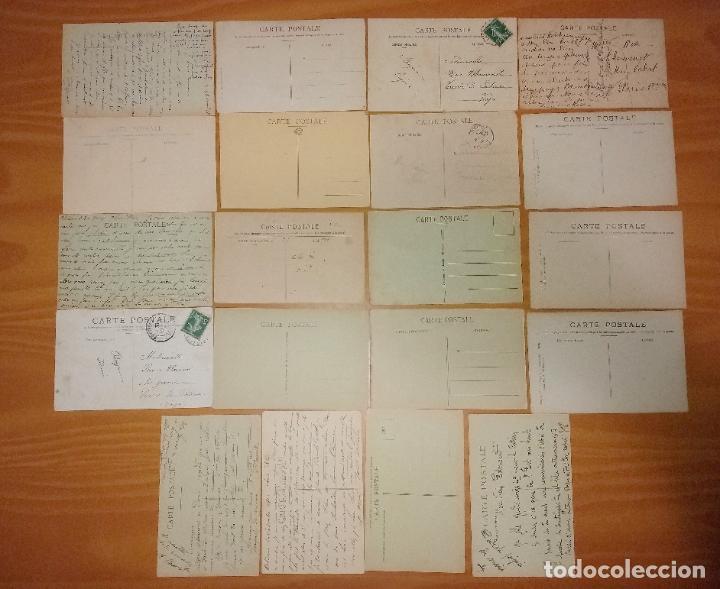 Postales: Lote de 49 Antiguas Postales de Francia de Principios del Siglo XX - Foto 2 - 190181085
