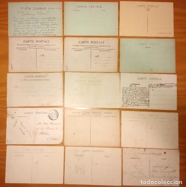 Postales: Lote de 49 Antiguas Postales de Francia de Principios del Siglo XX - Foto 4 - 190181085