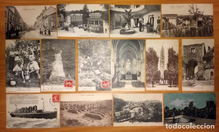 Postales: Lote de 49 Antiguas Postales de Francia de Principios del Siglo XX - Foto 5 - 190181085