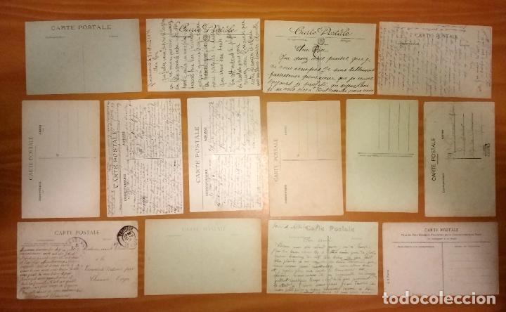Postales: Lote de 49 Antiguas Postales de Francia de Principios del Siglo XX - Foto 6 - 190181085
