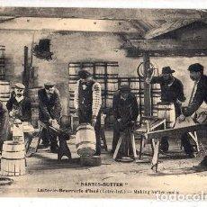 Postales: TARJETA POSTAL DE FRANCIA. NANTES- BUTTER. LAITERIE- BEURREIRE D´ISSÉ. . Lote 190216986