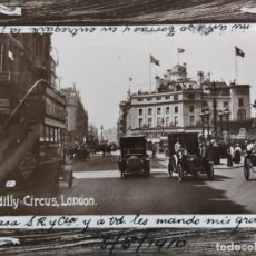 Postales: LONDRES-PICCADILLY CIRCUS LONDON-POSTAL ANTIGUA-(65.964). Lote 190292412