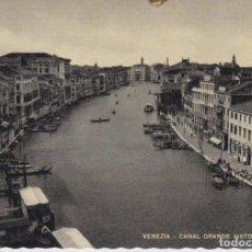 Postales: ITALIA VENECIA EL GRAN CANAL POSTAL NO CIRCULADA. Lote 190324107