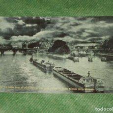 Postales: FRANCIA - PARIS LA SEINE, LE PONT-NEUF ET PETIT SQUARE, A DROITE L'ECLUSE DE LA MONNAIE P.L.2358/III. Lote 190625017