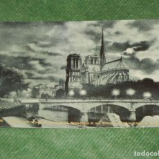 Postales: FRANCIA - PARIS LA SEINE, LE PONT DE L'ARCHEVEQUE, NOTRE-DAME, AU FOND LA PREFECTURE P.L.2358/X. Lote 190625161
