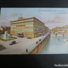 Postales: FLORENCIA ITALIA EXCELSIOR HOTEL. Lote 190725637