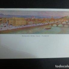 Postales: FLORENCIA ITALIA EXCELSIOR HOTEL. Lote 190725660
