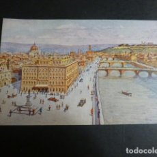 Postales: FLORENCIA ITALIA EXCELSIOR HOTEL. Lote 190725722