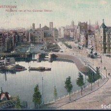 Postales: POSTAL AMSTERDAM - PANORAMA VAN AT HET CENTRAAL STATION - DR TRENKLER CO. Lote 190728205