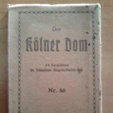 Postales: 14 POSTALES DER KOLNER DOM. Lote 190793757