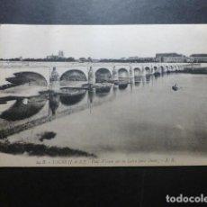 Postales: TOURS FRANCIA LE PONT WILSON SUR LA LOIRE. Lote 191030338