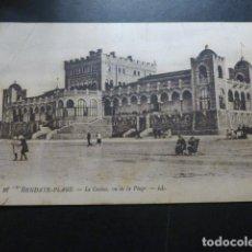 Postales: HENDAYA FRANCIA EL CASINO. Lote 191030387